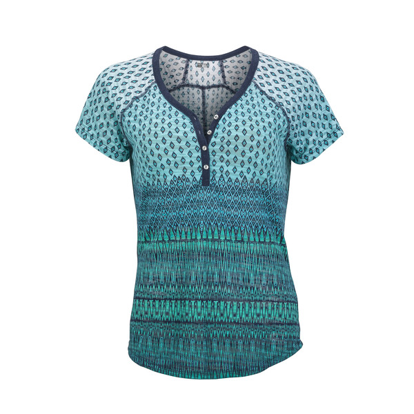 Marmot Lena Henley Frauen - T-Shirt