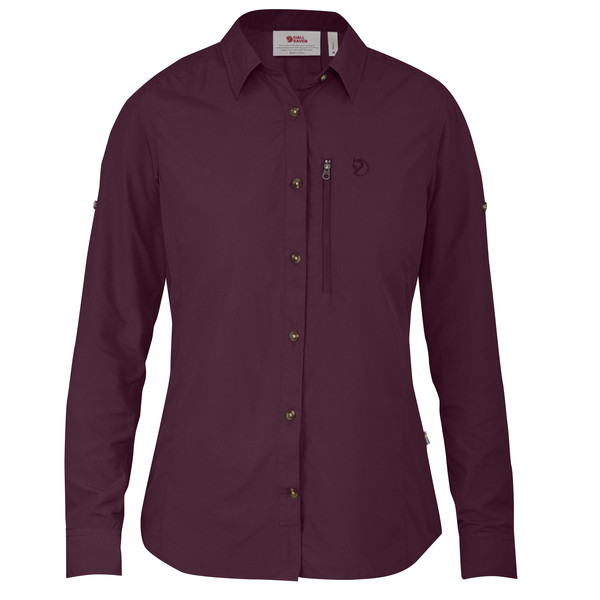 Fjällräven Abisko Hike Shirt LS Frauen - Outdoor Bluse