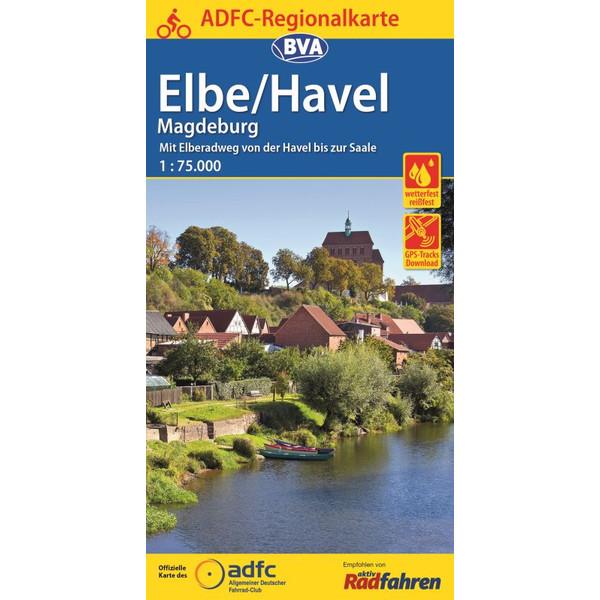 ADFC 1:75.000 Elbe/Havel Magdeburg