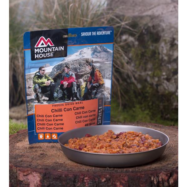 Mountain House Chilli con Carne mit Reis