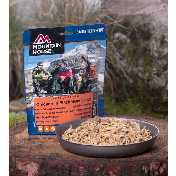 Mountain House Hühnchen+Nudeln in schwarzer Bohnensoße