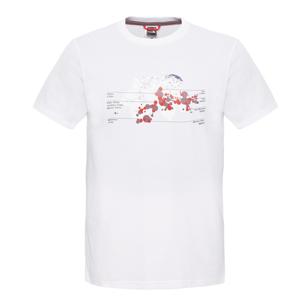 The North Face S/S Country Peak Tee Männer - T-Shirt