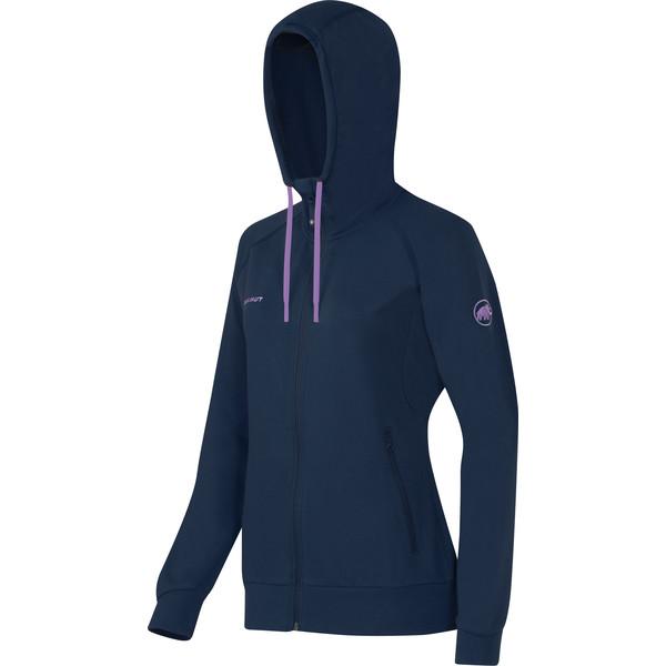 Mammut Trovat ML Hooded Jacket Frauen - Fleecejacke