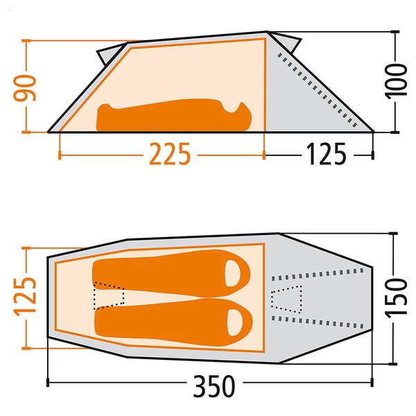 Fjällräven Abisko Lite 2 bei Globetrotter Ausrüstung