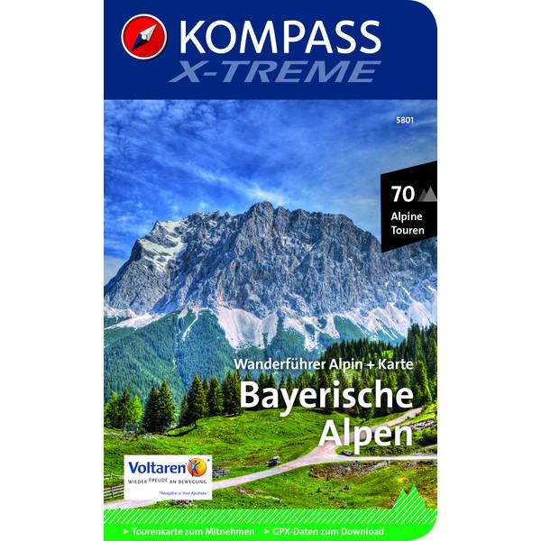 Kompass Wanderführer Bayerische Alpen