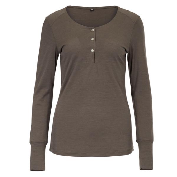 FRILUFTS Enni Buttoned L/S Shirt Frauen - Funktionsshirt