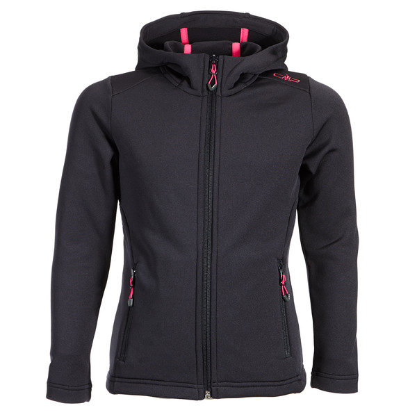 CMP Fix Hood light Stretch Perf.Jacket Kinder - Fleecejacke