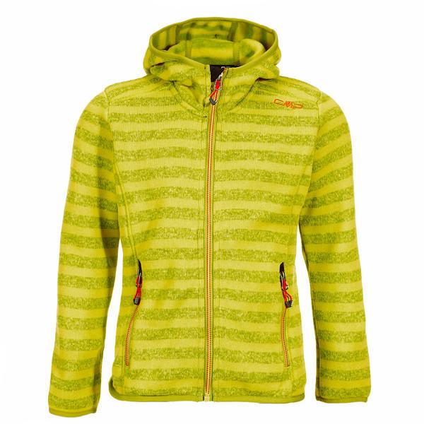CMP Fix Hood knitted Jacket Kinder - Fleecejacke