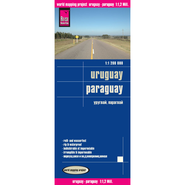 RKH WMP Uruguay, Paraguay 1:1.200.000