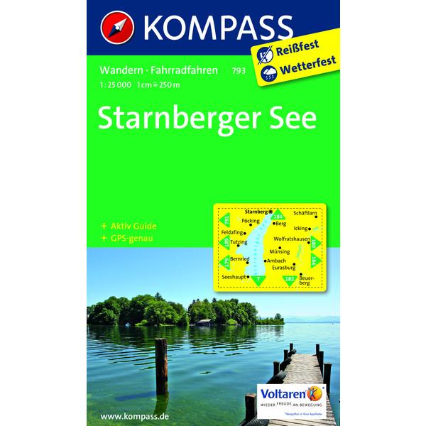 KOKA 793 Starnberger See 1:25.000
