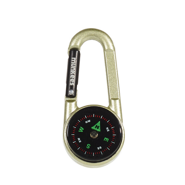 munkees Carabiner Compass with Thermometer - Karabiner