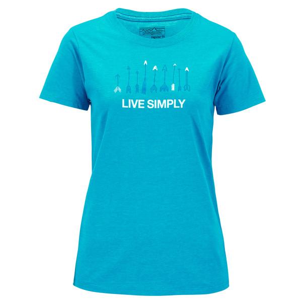Patagonia Live Simply Quiver Frauen - T-Shirt