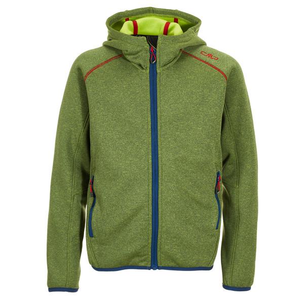 CMP Fix Hood Stretch Perf.Jacket Kinder - Fleecejacke