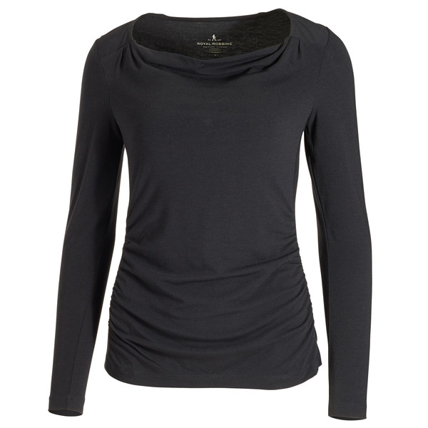 Royal Robbins Essential Tencel Cowl Neck Frauen - Langarmshirt