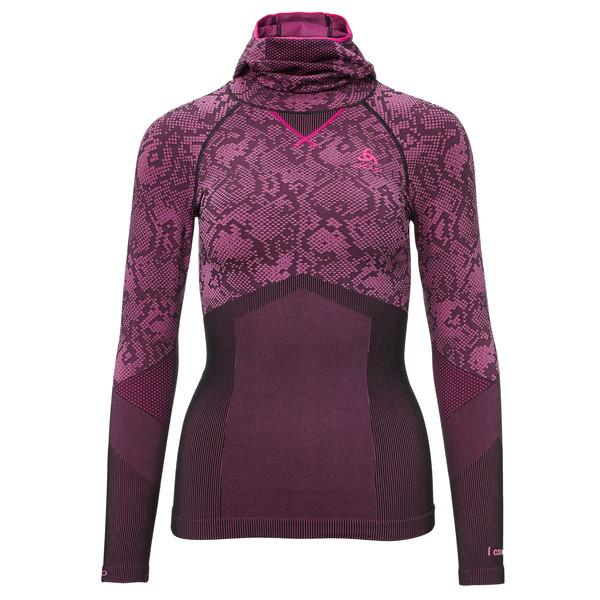 Odlo Blackcomb Evol. Warm Shirt L/S w.Facem. Frauen - Funktionsunterwäsche