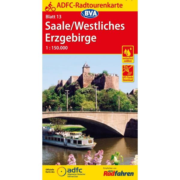 ADFC-Radtourenkarte 13 Saale