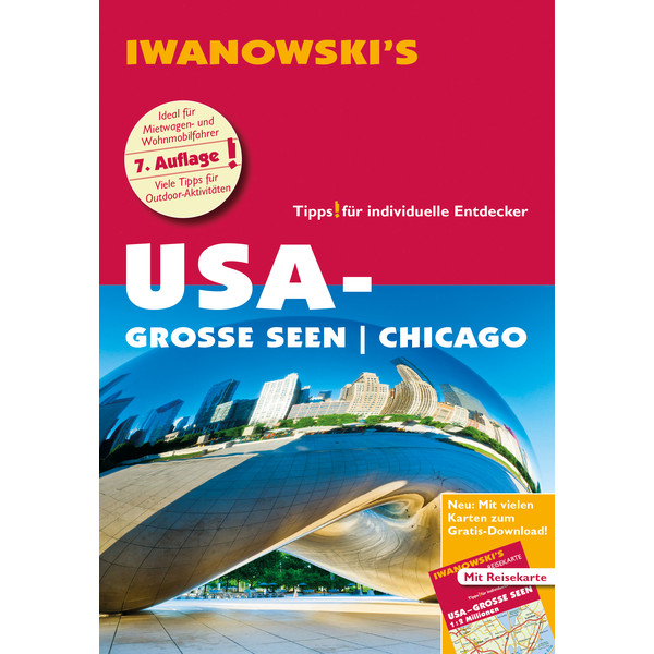 Iwanowski USA-Große Seen / Chicago