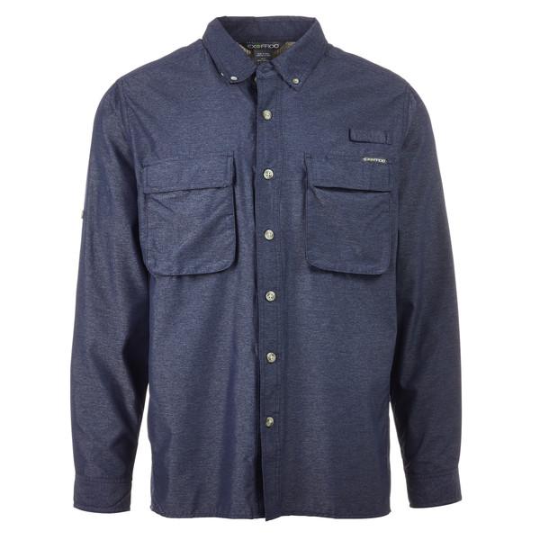 ExOfficio Air Strip LS Männer - Outdoor Hemd