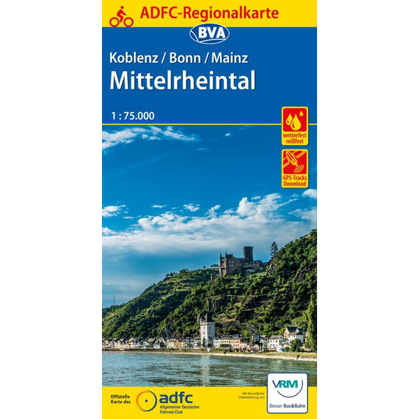 ADFC-Regionalkarte Koblenz / Bonn
