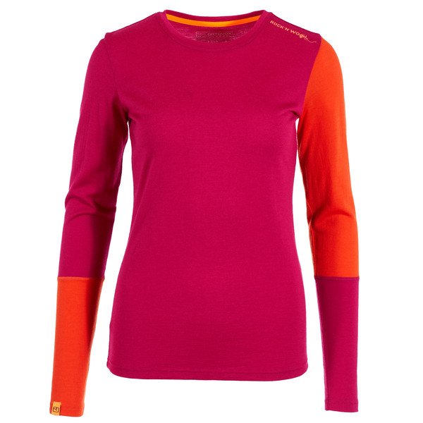 Ortovox 185 Rock 'N' Wool LONG SLEEVE Frauen - Funktionsshirt