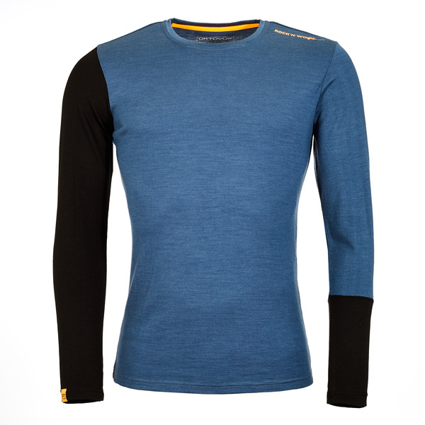 Ortovox 185 Rock 'N' Wool LONG SLEEVE Männer - Funktionsshirt