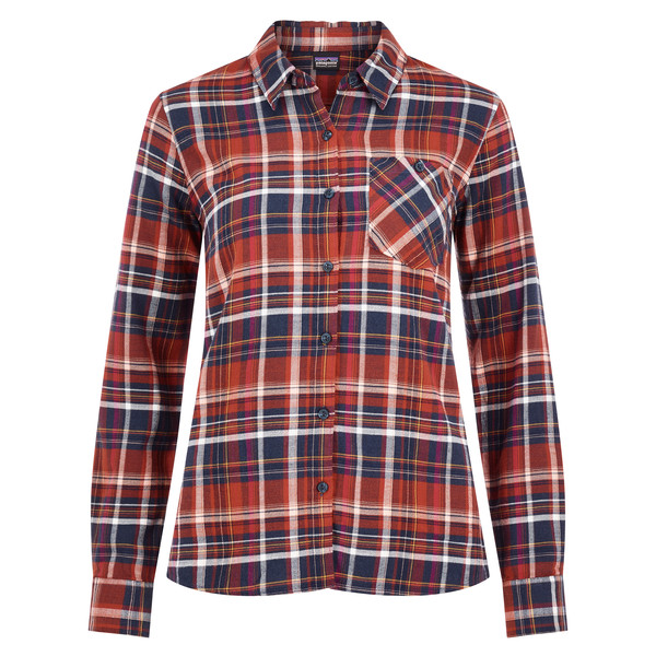 Patagonia Heywood Flannel Shirt Frauen - Outdoor Bluse