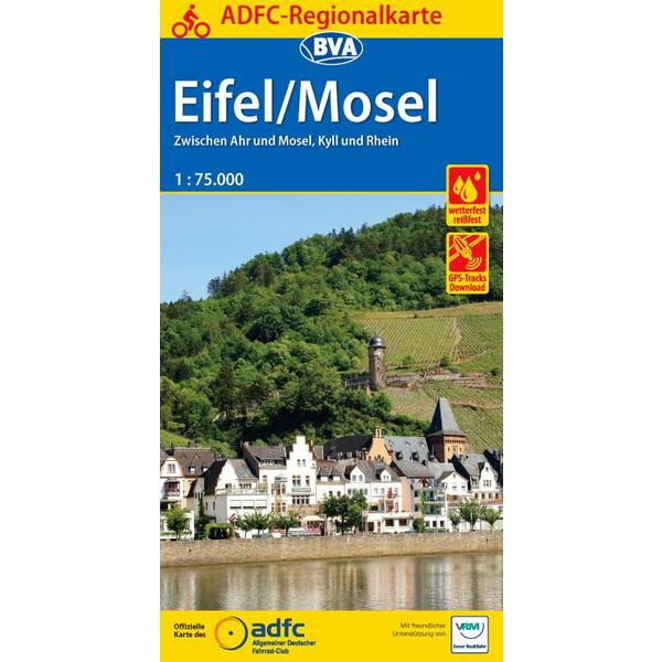 ADFC-Regionalkarte Eifel/ Mosel