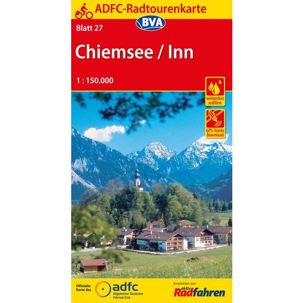 ADFC 27 Chiemsee / Inn  1:150.000