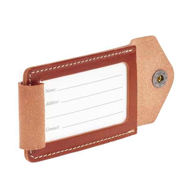 Fjällräven Leather Luggage Tag - Rucksack-Zubehör
