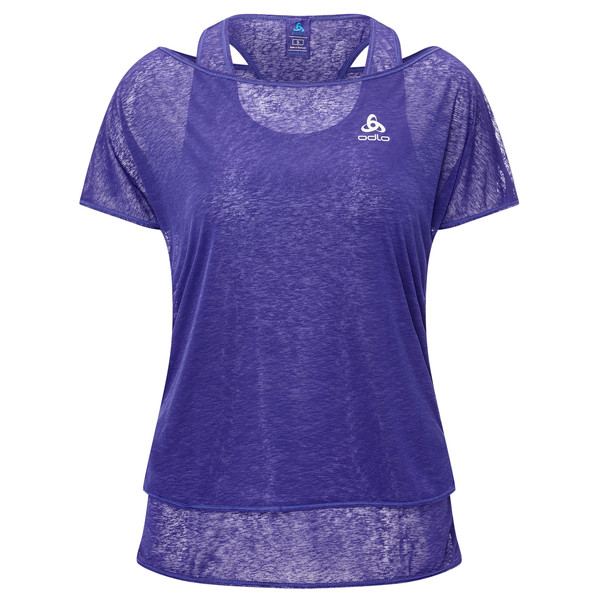 Odlo Hologram 2-in-1 Shirt s/s Frauen - Funktionsshirt