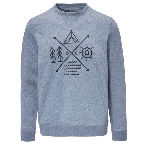 FRILUFTS Omaui Printed Sweater Männer - Sweatshirt