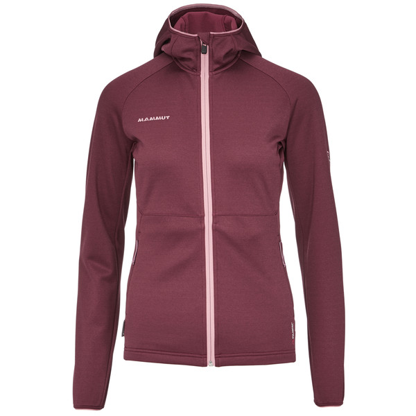 Mammut Get Away ML Hooded Jacket Frauen - Fleecejacke