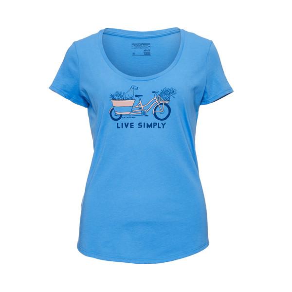 Patagonia Live Simply Market Bike Frauen - T-Shirt