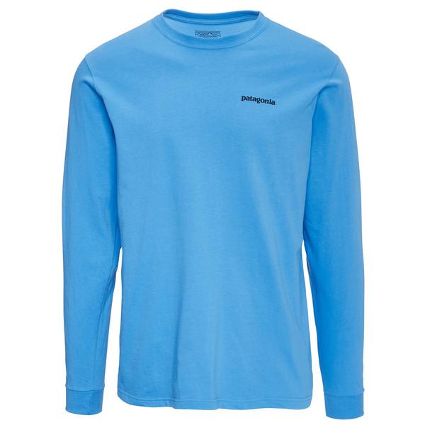 Patagonia L/S P-6 Logo Cotton T-Shirt Männer - Langarmshirt
