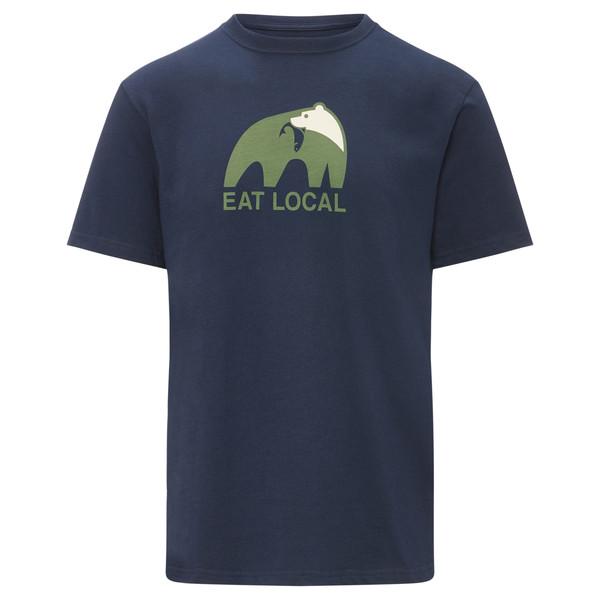 Patagonia Eat Local Upstream Cotton T-Shirt Männer - T-Shirt
