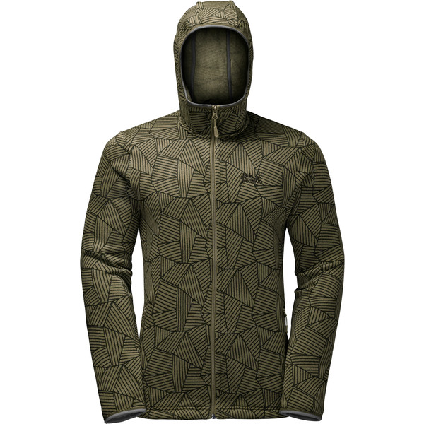 Jack Wolfskin Forest Leaf Jacket Männer - Fleecejacke
