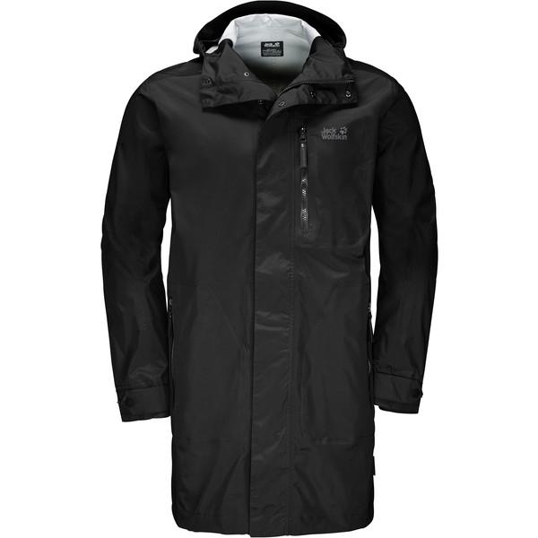 Jack Wolfskin Crosstown Raincoat Männer - Regenmantel