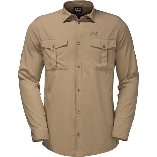 Jack Wolfskin Atacama Roll-Up Shirt Männer - Outdoor Hemd