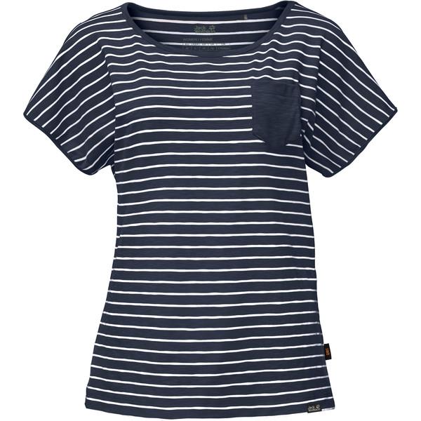 Jack Wolfskin Travel Striped T Frauen - Funktionsshirt