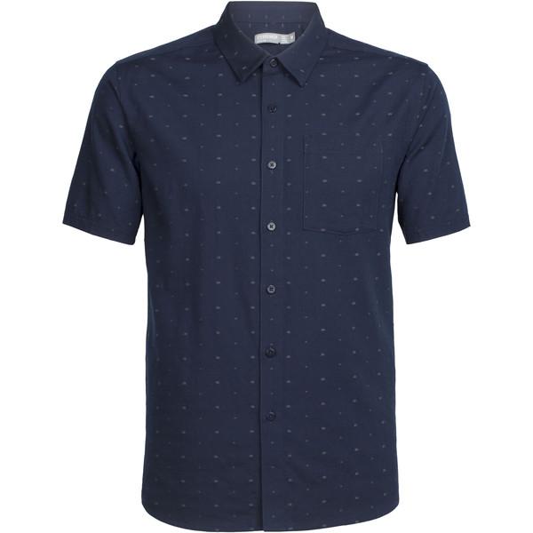 Icebreaker Compass SS Shirt Männer - Outdoor Hemd