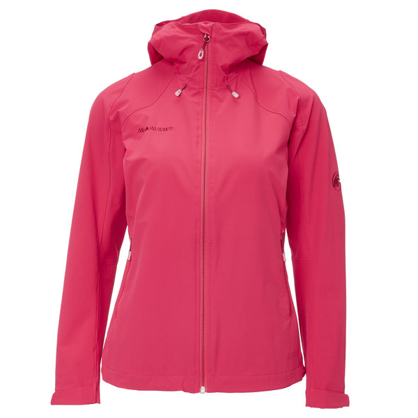Mammut Runbold Trail SO Hooded Ja Frauen - Softshelljacke
