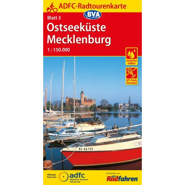 ADFC-Radtourenkarte 03 Ostseeküste