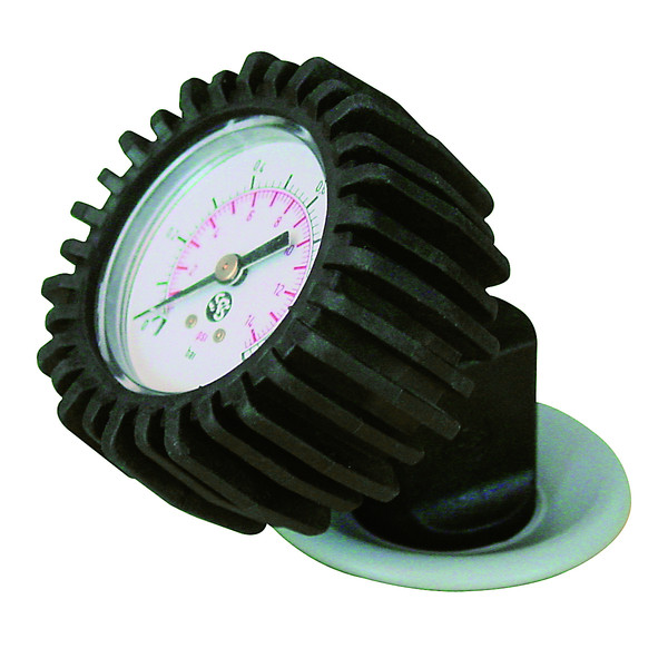 Gumotex Manometer für Push Push Ventil
