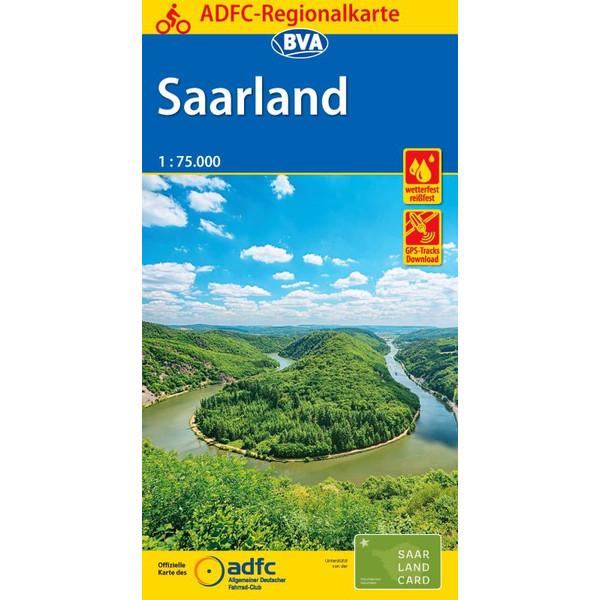 ADFC-Regionalkarte Saarland 1:75.000