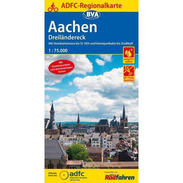 ADFC-Regionalkarte Aachen /Dreiländereck