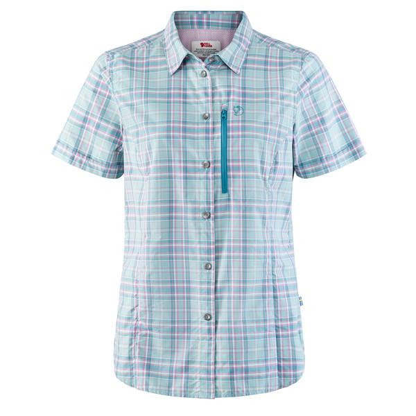 Fjällräven Abisko Hike Shirt SS Frauen - Outdoor Bluse