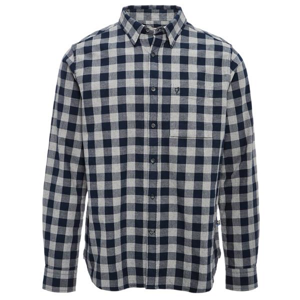 Fjällräven Övik Check Shirt LS Männer - Outdoor Hemd