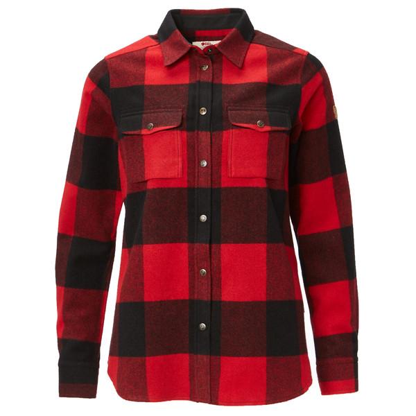 Fjällräven Canada Shirt LS Frauen - Outdoor Bluse