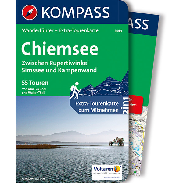 Kompass Wanderführer Chiemsee