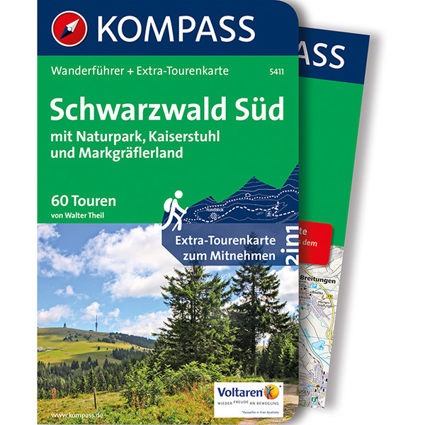Kompass Wanderführer Schwarzwald Süd